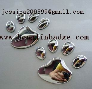 plastic ABS badges, plastic abs chrome badge,chrome plastic badge emblem
