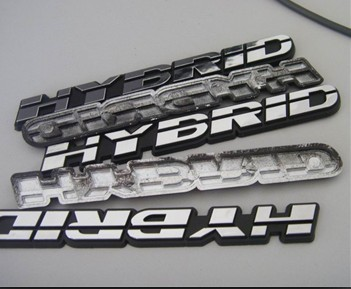 3D Chromed Car Logo,Custom ABS Chromed Car Badge Emblem
