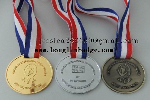 Custom Gold Silver Bronze Sports Medal,Cheap Blank Iron Metal Medals