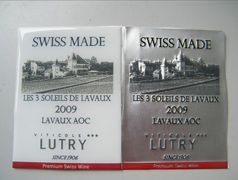 stannum wine labels,metal wine labels